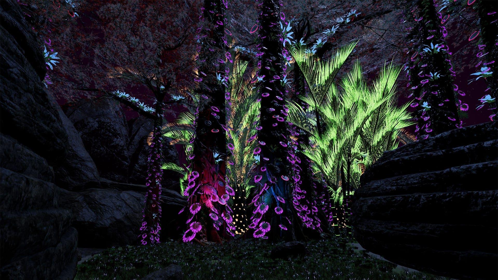 Neon VR Screen